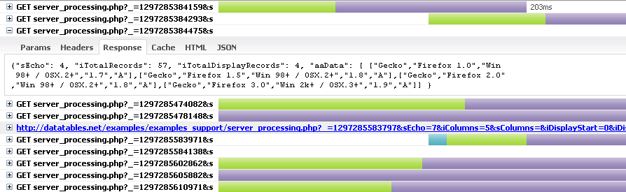 integrating jquery datatables plugin into asp net mvc applications