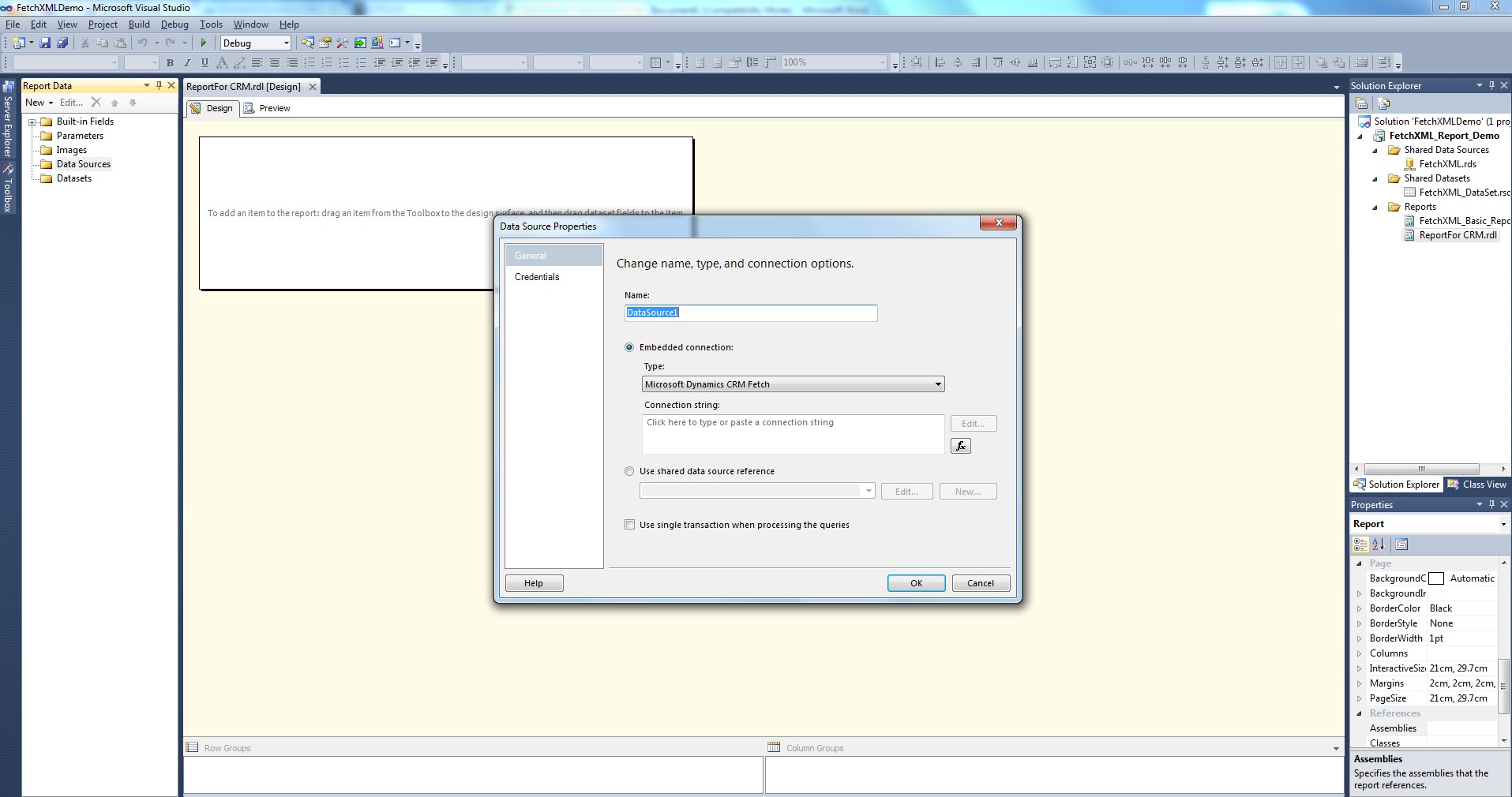 how to give access to ssrs reports