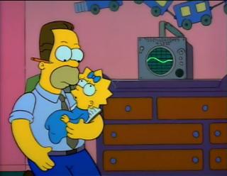Herb Powell Simpsons Train Baby Data