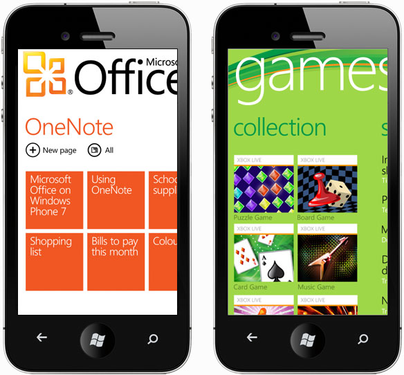 iPhone-styled Windows Phone emulator