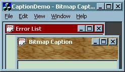 Bitmap Caption Image