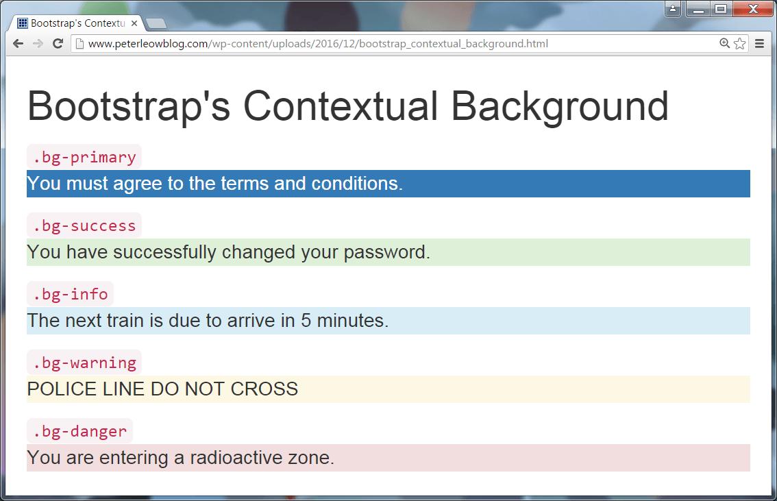 Figure 3: Bootstrap's Contextual Background