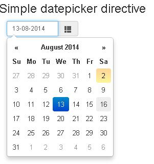 angularjs - Date Picker clears the selected value from date picker ...