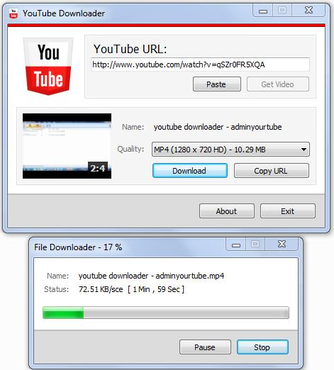 Youtube Resume Downloader