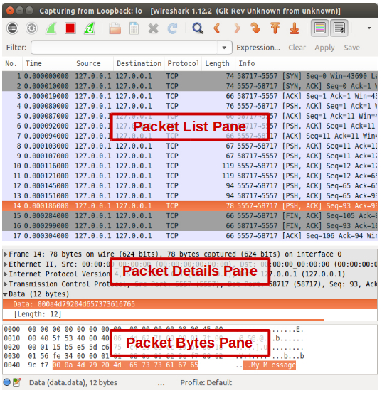 how to send large packets in ping