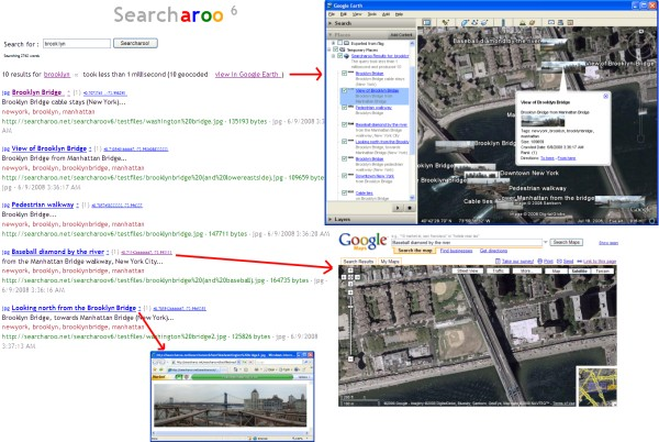 Overview of version 6: Image search, Google Earth and Google Maps