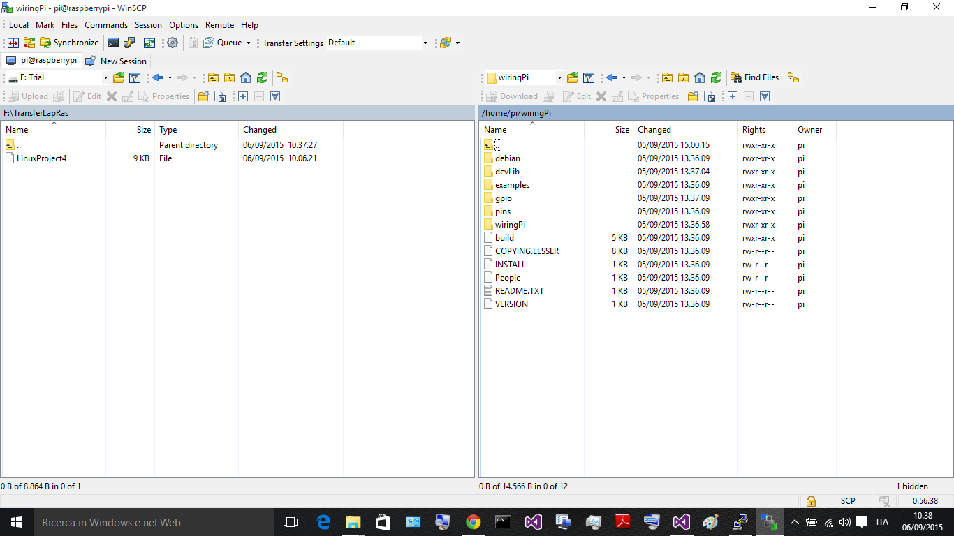 how to set up winscp