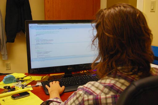 Working at the Compilr.com Online C Compiler Office