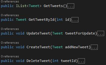 ManageTweet.cs Class Screen-shot