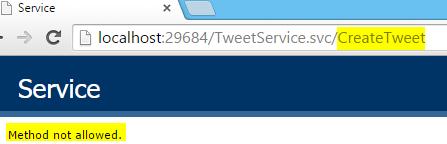 Tweet.WCFService.AJAX Project TweetService.svc WebInvoke Method run Screen-shot