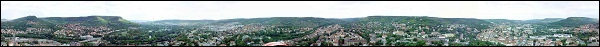 Small scaled Jena Panorama 360° image