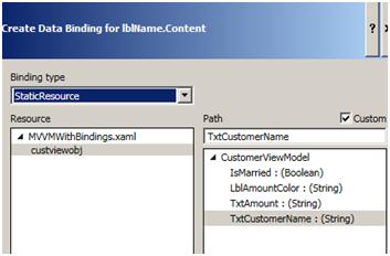 Create Binding2