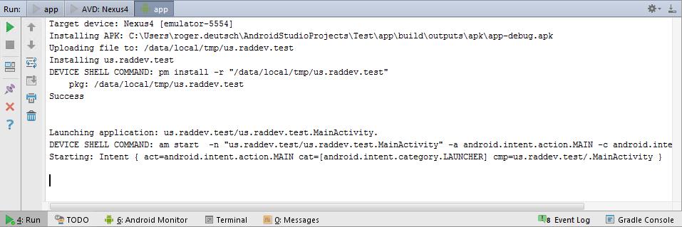 install apk on android studio