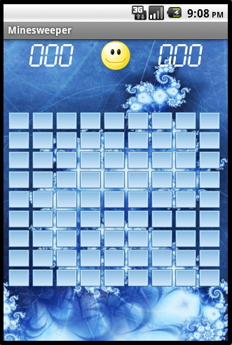 Minesweeper - New game screenshot