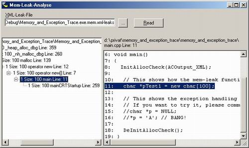 how to find memory leaks in c# code