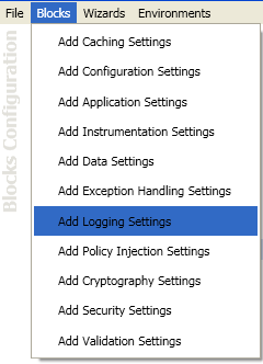 Logging Settings