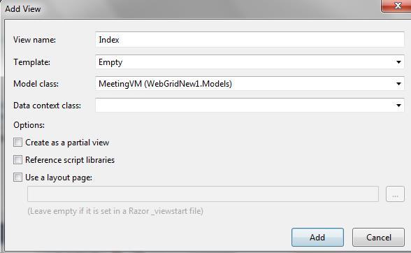 Webgrid in asp net mvc codeproject - Calcul beton m3 ...