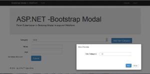 asp.net webform bootstrap