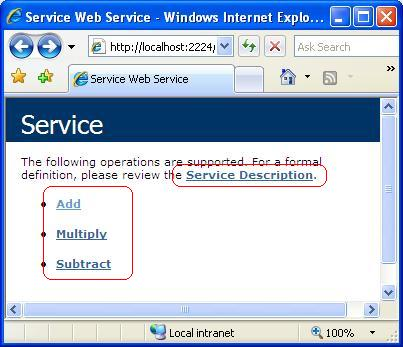 Web service article image