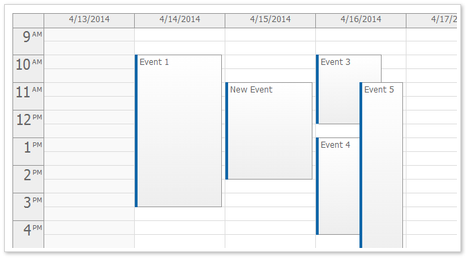 AJAX Event Calendar for ASP.NET MVC