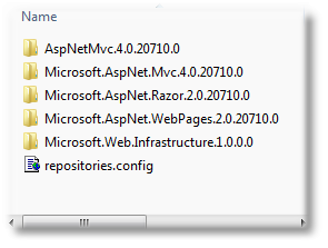 ASP.NET MVC 4 Install using Nuget package - Shemeer NS