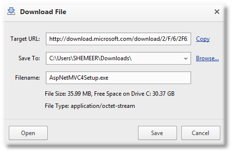 ASP.NET MVC 4 Install using Standalone Installer - Shemeer NS