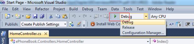 F5 - running web application