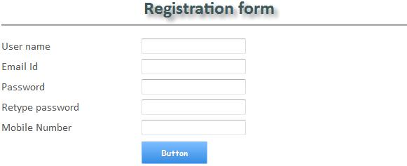 JQuery Validation for Registration Form Containing Name, Email, Mobile Number, Password - CodeProject - 웹