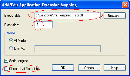 Deploy MVC2 Application at IIS 5.1 (windows XP)