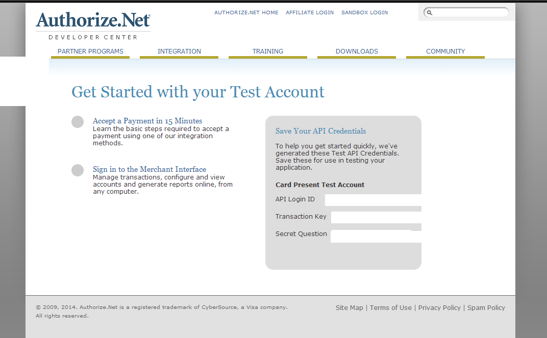 Authorize.Net Credit Card Processing Integration in ASP ...