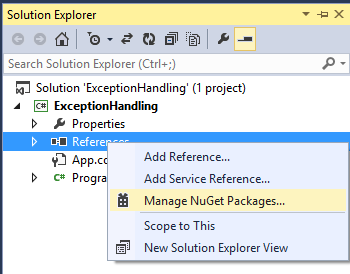 how to use nuget package restore