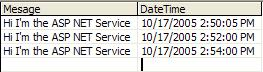 Service Log File