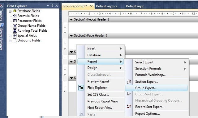 Generate a Report using Crystal Reports in Visual Studio 2010 - CodeProject