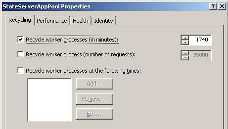 Application Pool Creation