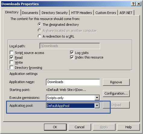 FTP User Isolation with Virtual Directories (NOT Global) in IIS 5