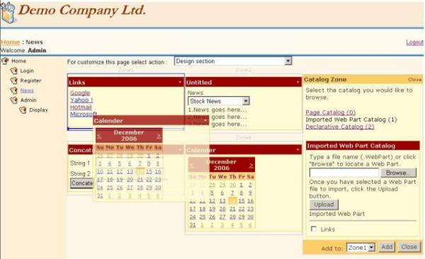 Visual web parts in sharepoint 2007 perficient blogs.