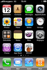 iPhone desktop