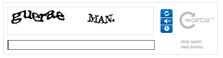 a sample captcha