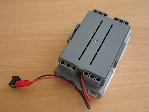 Lego's power supply - assembled view