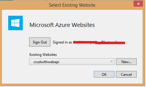 Publishing to Azure