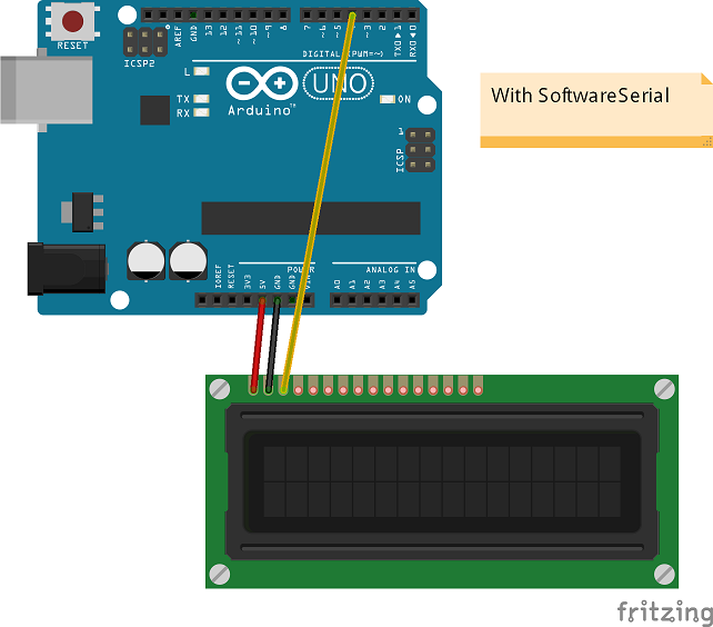 Seriallcd library for arduino codeproject
