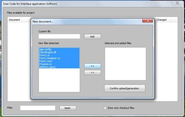 echoprint codegen binary options
