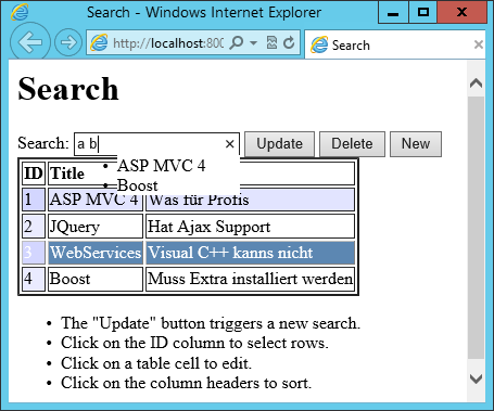 Search Page version 2