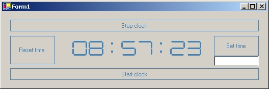 Sample Image - LEDClock.jpg