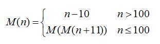 McCarthy Function