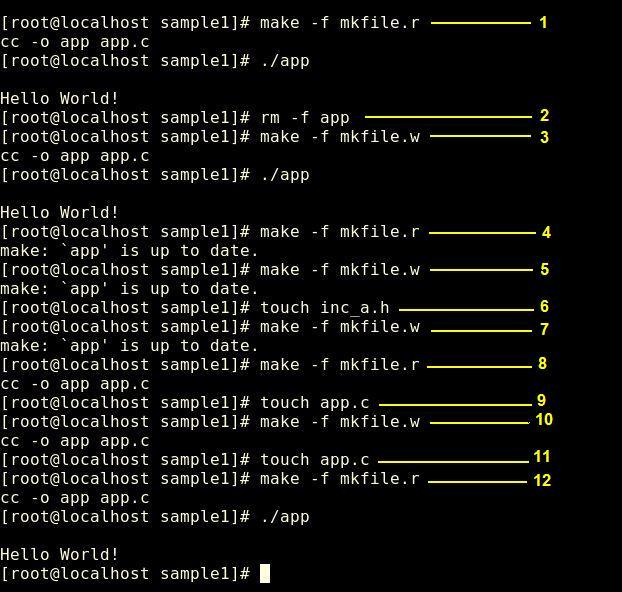 how to create makefile in ubuntu