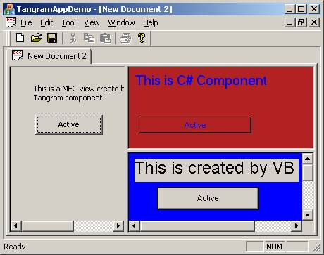 visual basic web application tabs
