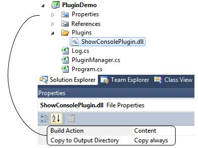 Plugin file properties