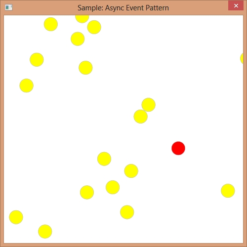 async event pattern sample