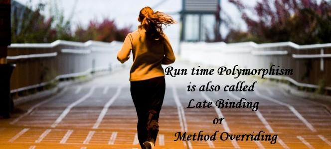 Akhil_run time polymorphism